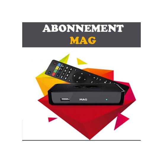 Abonnement MAG iPTV